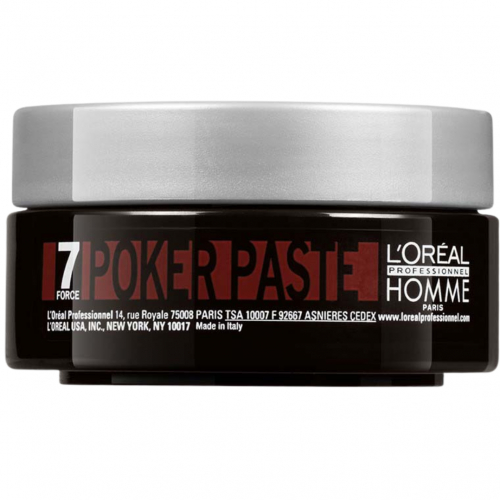 Loreal Professionnel Homme Poker Paste 75ml i gruppen Hårvård / Styling / Styling Hold / Hard hold hos ginos.se (7force-pokerpaste)