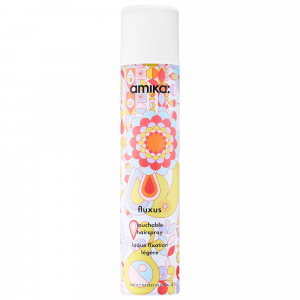 Amika Fluxus Touchable Hairspray 270ml i gruppen Hårvård / Styling / Styling spray / Styling spray - Medium hold hos ginos.se (Amika15)