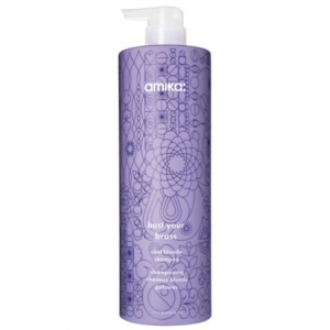 Amika Bust Your Brass Cool Blonde Shampoo 1000ml i gruppen Hårvård / Special / Silverschampo hos ginos.se (Amika31)
