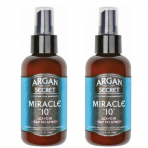 Argan Secret Miracle 10 Duo 2x125ml i gruppen Hårvård / UV Skydd / Styling hos ginos.se (Argan2)