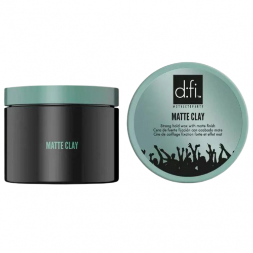 D:fi Matte Clay 150g i gruppen Hårvård / Styling / Styling Hold / Hard hold hos ginos.se (DFiMatteClay150)