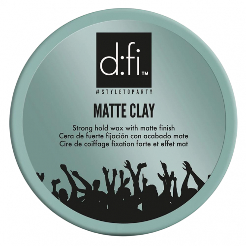 D:fi Matte Clay 75g i gruppen Hårvård / Styling / Styling Hold / Hard hold hos ginos.se (DFiMatteClay75)