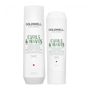 Goldwell Dualsenses Curly Twist Hydrating Duo Shampoo + Conditioner i gruppen Kampanjer / Duo-pack / Goldwell Duo-pack hos ginos.se (DWDS1112)