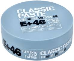 E+46 Classic Paste 100ml i gruppen Hårvård / Styling / Styling Hold / Medium hold hos ginos.se (E461)