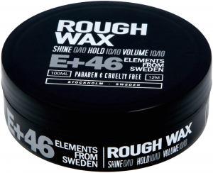 E+46 Rough Wax 100ml i gruppen Hårvård / Styling / Styling Hold / Hard hold hos ginos.se (E462)