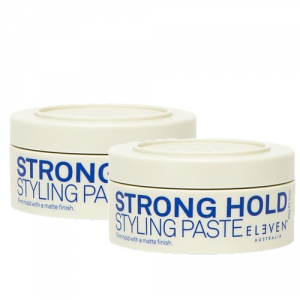 Eleven Australia Strong Hold Styling Paste Duo 2x85g i gruppen Hårvård / Styling / Styling Hold / Hard hold hos ginos.se (ELAU1115)