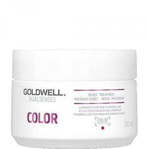 Goldwell Dualsenses Color 60sec Treatment 200ml i gruppen Hårvård / Special / För färgat & slingat hår hos ginos.se (GOLDWD1111)