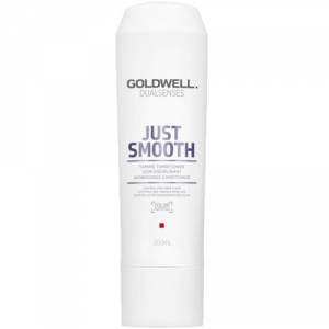 Goldwell Dualsenses Just Smooth Taming Conditioner 200ml i gruppen Hårvård / Balsam / Färgat & slingat hår hos ginos.se (GOLDWJS1111)