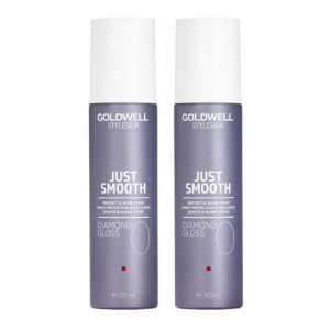 Goldwell StyleSign Just Smooth Diamond Gloss Duo 2x150ml i gruppen Hårvård / Styling / Styling Hold / Soft hold hos ginos.se (GW24)