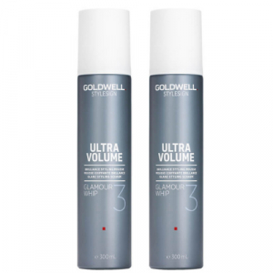 Goldwell Stylesign Ultra Volume Glamour Whip Duo 2x300ml i gruppen Hårvård / Styling / Styling Hold / Medium hold hos ginos.se (GW46)