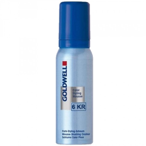 Goldwell Color Styling Mousse 6KR Granatäpple 75ml i gruppen Hårvård / Styling / Styling Mousse hos ginos.se (GWCSM1113)