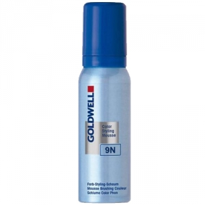 Goldwell Color Styling Mousse 9N Blond 75ml i gruppen Hårvård / Styling / Styling Mousse hos ginos.se (GWCSM1120)