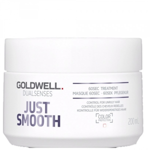 Goldwell Dualsenses Just Smooth 60sec Treatment 200ml i gruppen Hårvård / Hårinpackning / Färgat hår hos ginos.se (GWDS1115)