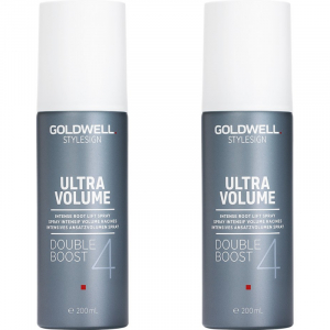 Goldwell StyleSign Ultra Volume Double Boost Duo 2x200ml i gruppen Hårvård / Styling / Styling spray / Styling spray - Hard hold hos ginos.se (Goldwell108)