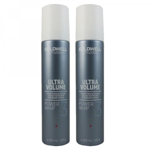 Goldwell Stylesign Ultra Volume Power Whip Duo 2x300ml i gruppen Hårvård / Styling / Styling Hold / Medium hold hos ginos.se (Goldwell109)