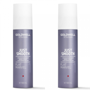 Goldwell StyleSign Just Smooth Flat Marvel Duo 2x100ml i gruppen Hårvård / Styling / Värmeskydd hos ginos.se (Goldwell118)