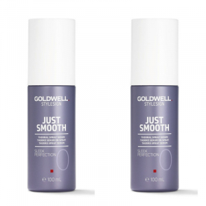 Goldwell StyleSign Just Smooth Sleek Perfection Duo 2x100ml i gruppen Hårvård / Styling / Värmeskydd hos ginos.se (Goldwell119)