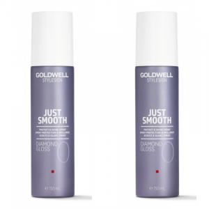 Goldwell StyleSign Just Smooth Diamond Gloss Duo 2x150ml i gruppen Hårvård / Styling / Styling Hold / Soft hold hos ginos.se (Goldwell120)