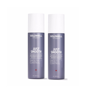 Goldwell Stylesign Just Smooth Smooth Control Duo 2x200ml i gruppen Hårvård / Styling / Styling Hold / Soft hold hos ginos.se (Goldwell121)