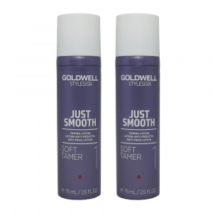 Goldwell StyleSign Just Smooth Soft Tamer Duo 2x75ml i gruppen Hårvård / Styling / Styling Hold / Soft hold hos ginos.se (Goldwell122)
