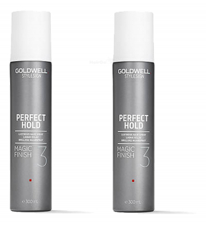 Goldwell StyleSign Perfect Hold Magic Finish Duo 2x300ml i gruppen Hårvård / Styling / Styling spray / Styling spray - Hard hold hos ginos.se (Goldwell126)