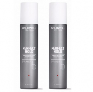 Goldwell StyleSign Perfect Hold Sprayer Duo 2x300ml i gruppen Hårvård / Styling / Styling Hold / Hard hold hos ginos.se (Goldwell128)