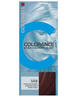 Goldwelll Colorance pH 6.8 - 5RB Mörkröd Bok