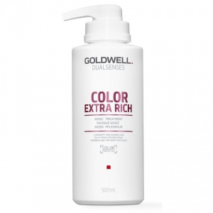 Goldwell Dualsenses Color Extra Rich 60sec Treatment 500ml i gruppen Hårvård / Styling attribut / Färgskydd hos ginos.se (GoldwellColExTreat500)