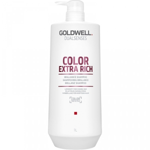 Goldwell Dualsenses Color Extra Rich Brilliance Shampoo 1000ml i gruppen Hårvård / Styling attribut / Färgskydd hos ginos.se (GoldwellColExtraSham1000)