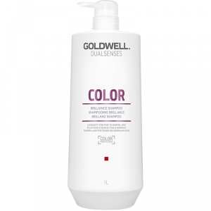 Goldwell Dualsenses Color Brilliance Shampoo 1000ml i gruppen Hårvård / Styling attribut / Färgskydd hos ginos.se (GoldwellColorShampoo1000)