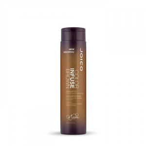 Joico Color infuse Brown Shampoo 300ml i gruppen Hårvård / Styling attribut / Färgskydd hos ginos.se (Joico-colorinf-brown)