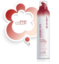 Joico Color Co+Wash Whipped Cleansing Conditioner 245ml i gruppen  hos ginos.se (Joico-cowash-color)