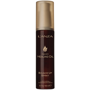Lanza Keratin Healing Oil Bounce Up Spray 180ml i gruppen Hårvård / Styling / Styling spray / Styling spray - Soft hold hos ginos.se (Lanza8)