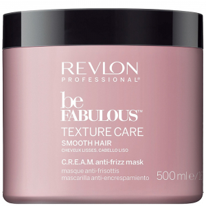 Revlon Be Fabulous Smooth Cream Mask 500ml i gruppen Hårvård / Styling attribut / Färgskydd hos ginos.se (Revlon22)