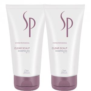 Wella Sp Clear Scalp Shampeeling 2x150ml Duo