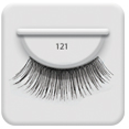 Ardell Natural Lashes 121 Black i gruppen Make up / Ögon hos ginos.se (ardell - 10005)