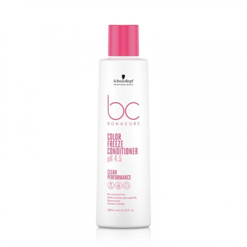 Schwarzkopf BC Bonacure pH 4.5 Color Freeze Conditioner 200ml i gruppen Hårvård / Balsam / Färgat & slingat hår hos ginos.se (bc-100001-0041)