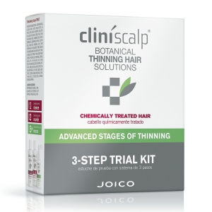 Joico Cliníscalp 3-Step Trial Kit Chemically Treated Hair Advanced Stages Of Thinning i gruppen Hårvård / Special / Mot håravfall hos ginos.se (c linisc)
