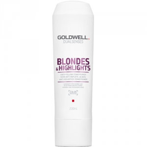 Goldwell Dualsenses Blondes & Highlights Anti-Yellow Conditioner 200ml i gruppen Hårvård / Styling attribut / Färgskydd hos ginos.se (dual-blonde-1001-002)