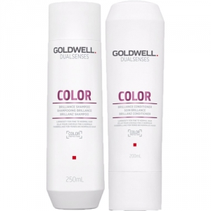 Goldwell Dualsenses Color Schampo 250ml + Balsam 200ml i gruppen Kampanjer / Duo-pack / Goldwell Duo-pack hos ginos.se (dualsens-duo-2001-001)