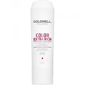 Goldwell Dualsenses Color Extra Rich Brilliance Conditioner 200ml i gruppen Hårvård / Styling attribut / Färgskydd hos ginos.se (goldwell-10001-022)