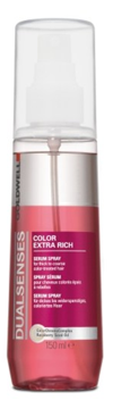 Goldwell Dualsenses Color Extra Rich Serum Spray 150ml i gruppen Hårvård / Styling attribut / Färgskydd hos ginos.se (goldwell-10001-025)