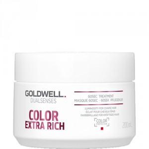 Goldwell Dualsenses Color Extra Rich 60sec Treatment 200ml i gruppen Hårvård / Styling attribut / Färgskydd hos ginos.se (goldwell-10001-026)