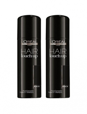Loreal Hair Touch Up Black Duo 2x75ml i gruppen Kampanjer / Duo-pack / Loreal Duo-pack hos ginos.se (hhh)