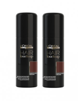 Loreal Hair Touch Up Mahogany Duo 2x75ml i gruppen Kampanjer / Duo-pack / Loreal Duo-pack hos ginos.se (hjjhj)