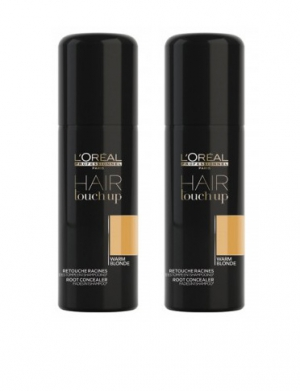 Loreal Hair Touch Up Warm Blonde Duo 2x75ml i gruppen Kampanjer / Duo-pack / Loreal Duo-pack hos ginos.se (hyvgblg)