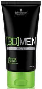 Schwarzkopf 3D Strong Hold Gel 150ml