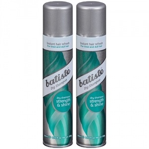 Batiste Strength And Shine Dry Shampoo 2x200ml Duo