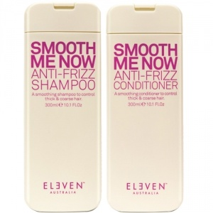 Eleven Australia Smooth Me Now Anti Frizz Shampoo 300ml & Conditioner 300ml