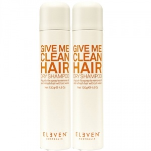 Eleven Australia Give Me Clean Hair Dry Shampoo Duo 2x130g